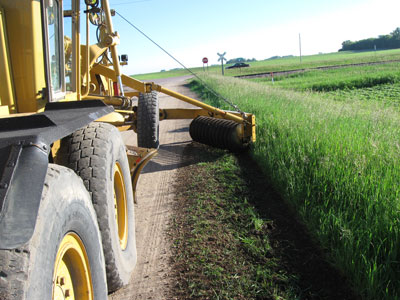 Sibley County, Evaluation of Grader Front-Mounted Retriever Hitch
