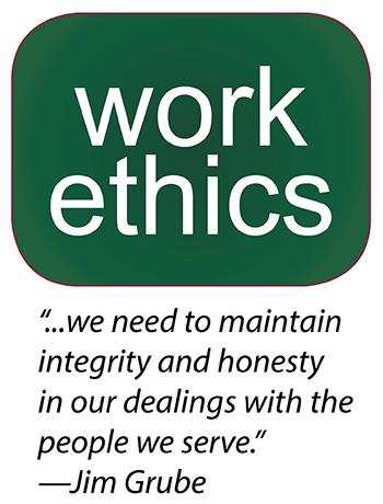 define work ethics