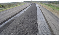 Image of aggregate road