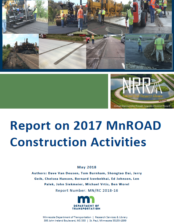 Cover of MnROAD report